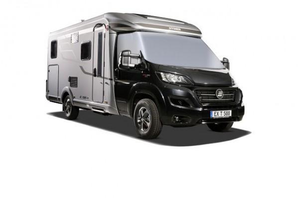 Winterpaket 8 (Frontscheibenisolierung Fiat Ducato Teilintegrierte und Camper Van Fiat)
