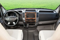 Dashboard trim Mercedes Benz / burl wood finish