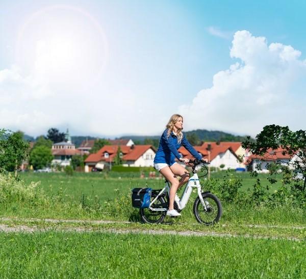 E-Bike Paket inkl. Gepäckträgerkorb und ABUS Schloss