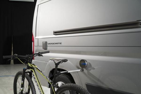 Fahrrad-Haltearm mit Saughalter