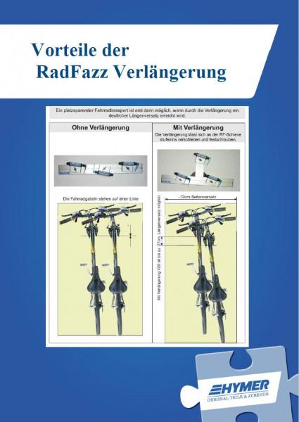 RadFazz Gabelhalter m. 20 cm Verlängerung