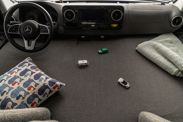 Kinderbett Variante Mercedes ab Modeljahr 2019