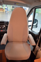 Seat cover 2007-2014 beige