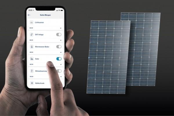 Nachrüstsatz Solaranlage 2 x 90 W für B-ML-Modelle HCA-fähig