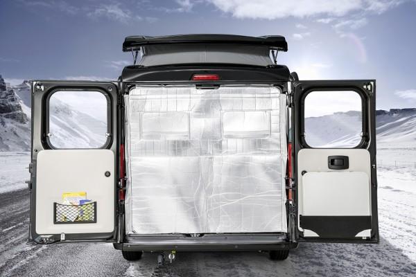 Winterpaket 6 (Heckisolierung Camper Van Sydney)