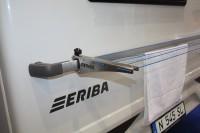 2 Adapterbleche für Wäschespinne 2483628, passend für ERIBA-Fzg. 2005 - 2015 mit rundem Rangierbügel