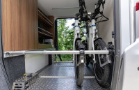 Bicycle rack - Bike Carrier for 2 Bicycles Mercedes/Citroën version (vehicles WITHOUT platform in the garage)