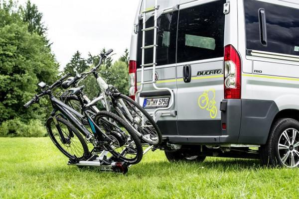 Fahrradträger klappbar für 3 Räder auf Anhängekupplung