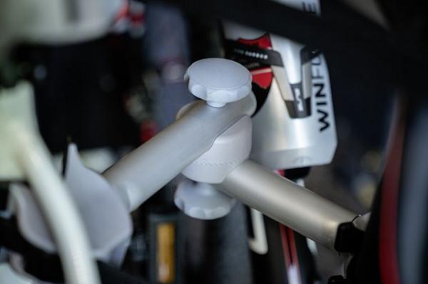 Fahrradträger - Bike Carrier für 2 Räder Mercedes/Citroen Variante ( Fahrzeuge OHNE Absatz in der Ga