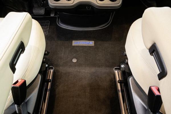 Fahrerhausteppich B ML-I 2020 mit elektrischer Handbremse