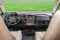 Dashboard trim Fiat Ducato / burl wood finish